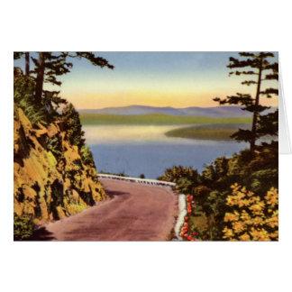 Victoria British Columbia Canada Malahat Drive Card
