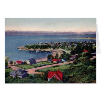 Victoria British Columbia Canada Marine Drive Card