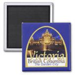 VICTORIA Canada 2 Inch Square Magnet