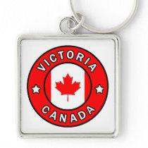 Victoria Canada Keychain
