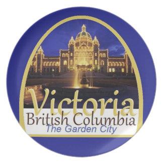 VICTORIA Canadá Plato De Comida