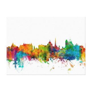 Victoria Canada Skyline Canvas Prints
