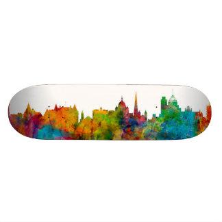 Victoria Canada Skyline Skate Board