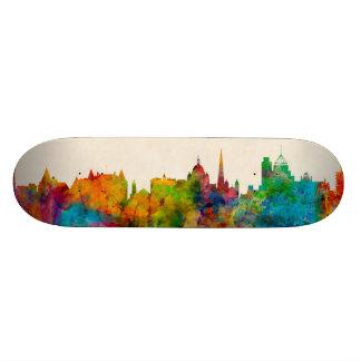 Victoria Canada Skyline Skate Board Deck