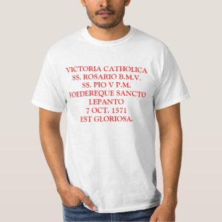VICTORIA CATHOLICA CAMISIA DE LEPANTO T-Shirt