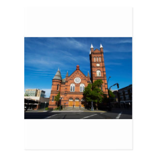 Victoria church postcard