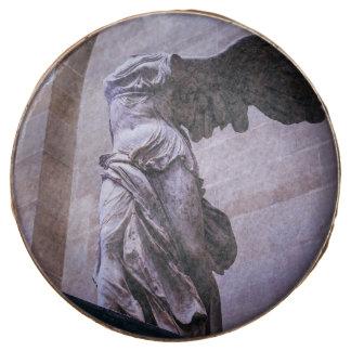 Victoria coa alas de Samothrace, Louvre, París