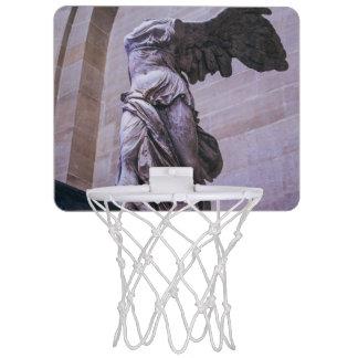 Victoria coa alas de Samothrace, Louvre, París Canastas Mini