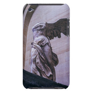 Victoria coa alas de Samothrace, Louvre, París Cubierta Para iPod De Barely There