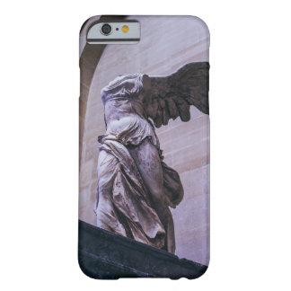 Victoria coa alas de Samothrace, Louvre, París Funda Barely There iPhone 6