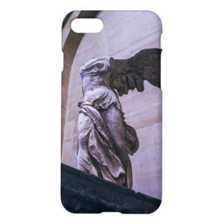 Victoria coa alas de Samothrace, Louvre, París Funda Para iPhone 7