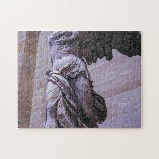 Victoria coa alas de Samothrace, Louvre, París Rompecabeza