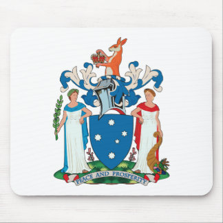 Victoria Coat of Arms Mousepad