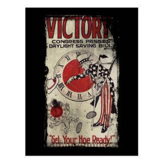 Victoria con el tiempo WWII de los ahorros de luz