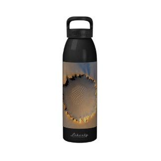 Victoria Crater - Mars Reusable Water Bottles