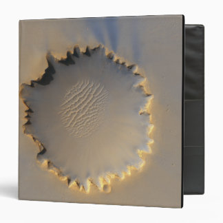 Victoria Crater on Mars 3 Ring Binder
