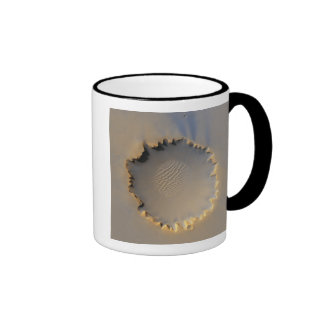 Victoria Crater on Mars Ringer Mug