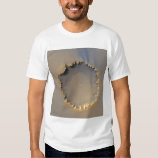 Victoria Crater on Mars Tee Shirt