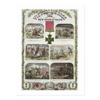 Victoria Cross, the New Order of Valour for the Ar Postcard