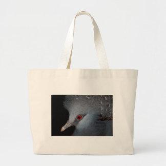 Victoria Crowned Pigeon Canvas Bag