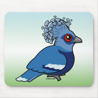 Victoria Crowned Pigeon Mouse Pad