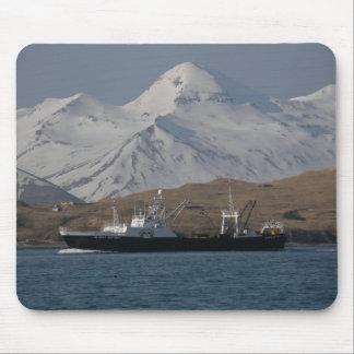 Victoria de Alaska, barco rastreador de fábrica de Tapetes De Ratón