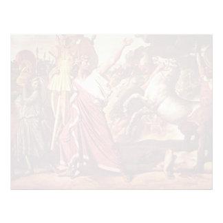 Victoria de Jean Auguste Ingres- Romulus sobre Acr Membrete A Diseño