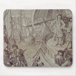 Victoria de la marina de guerra de Louis XIV Alfombrilla De Ratón