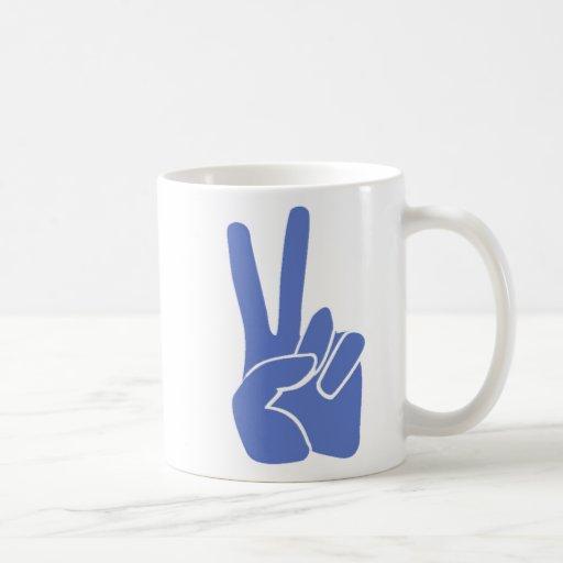 Victoria de la paz taza