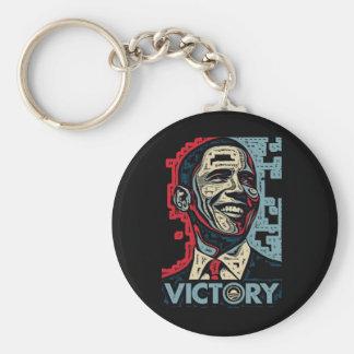 Victoria de Obama Llavero Redondo Tipo Pin