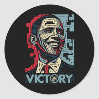 Victoria de Obama Pegatinas