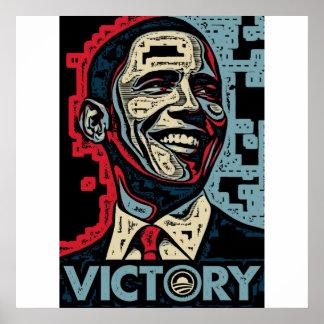 Victoria de Obama Póster