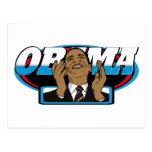 Victoria de Obama Tarjeta Postal