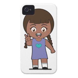Victoria de Piccola Simo (afro) Case-Mate iPhone 4 Fundas