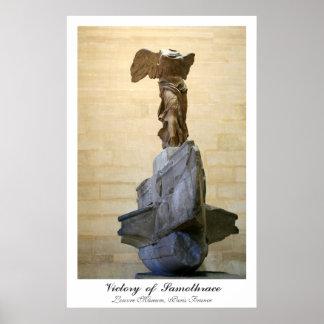Victoria del poster de Samothrace