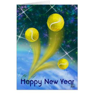 Victoria del tenis, Feliz Año Nuevo Felicitaciones