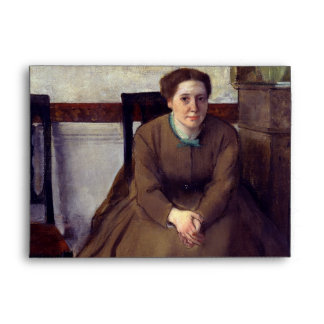 Victoria Dubourg by Edgar Degas Envelope