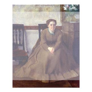 "Victoria Dubourg by Edgar Degas 4.5"" X 5.6"" Flyer"
