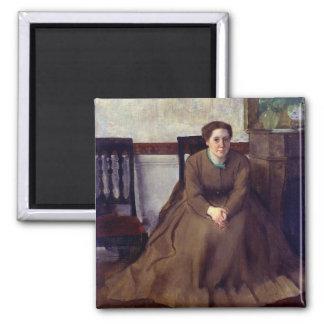 Victoria Dubourg by Edgar Degas Magnet