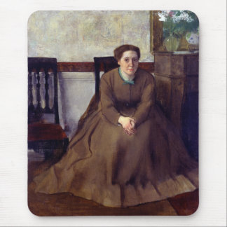 Victoria Dubourg by Edgar Degas Mouse Pad