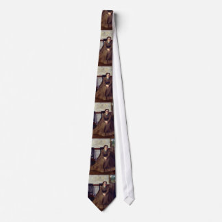Victoria Dubourg by Edgar Degas Neck Tie