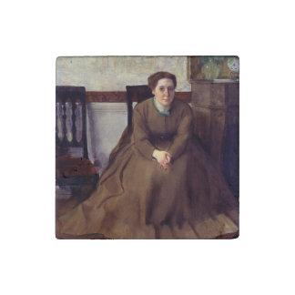 Victoria Dubourg by Edgar Degas Stone Magnet
