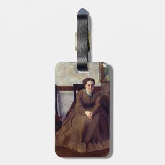 Victoria Dubourg de Edgar Degas Etiquetas Para Equipaje