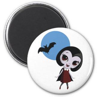 Victoria el vampiro imán redondo 5 cm