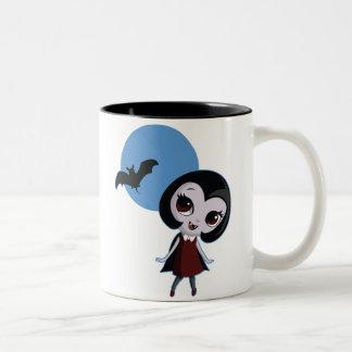 Victoria el vampiro taza de dos tonos