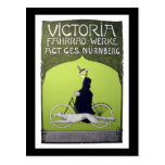 Victoria Fahrrad-Werke Vintage Bicycle Postcard