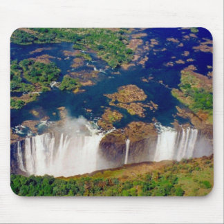victoria falls aerial mouse pad