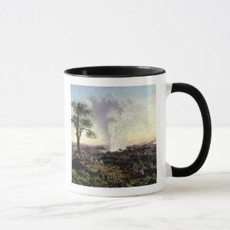 Victoria Falls at Sunrise, with 'The Smoke', or 'S Mug