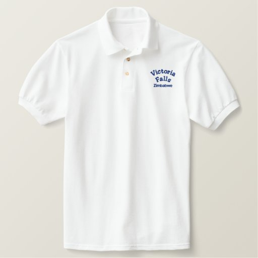 Victoria Falls Clothing Embroidered Polo Shirt