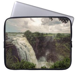 Victoria Falls: The Cataract Laptop Sleeve